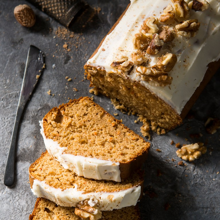 Carrot Cake loaf | Baking | Stacy Grant | Food Photographer UK