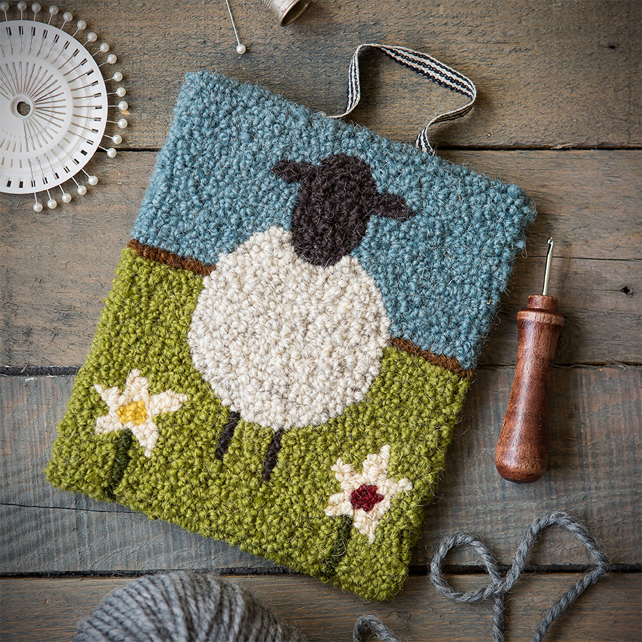 Yarn Hooking | Craft Book | Stacy Grant Photography