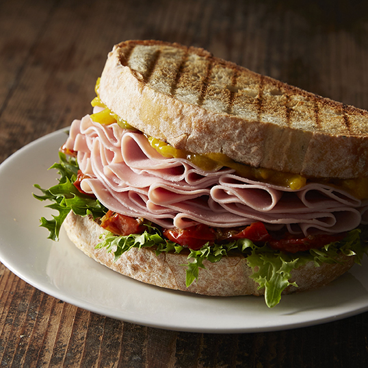 Wafer Thin Ham | Sandwich | Stacy Grant | Food Photographer