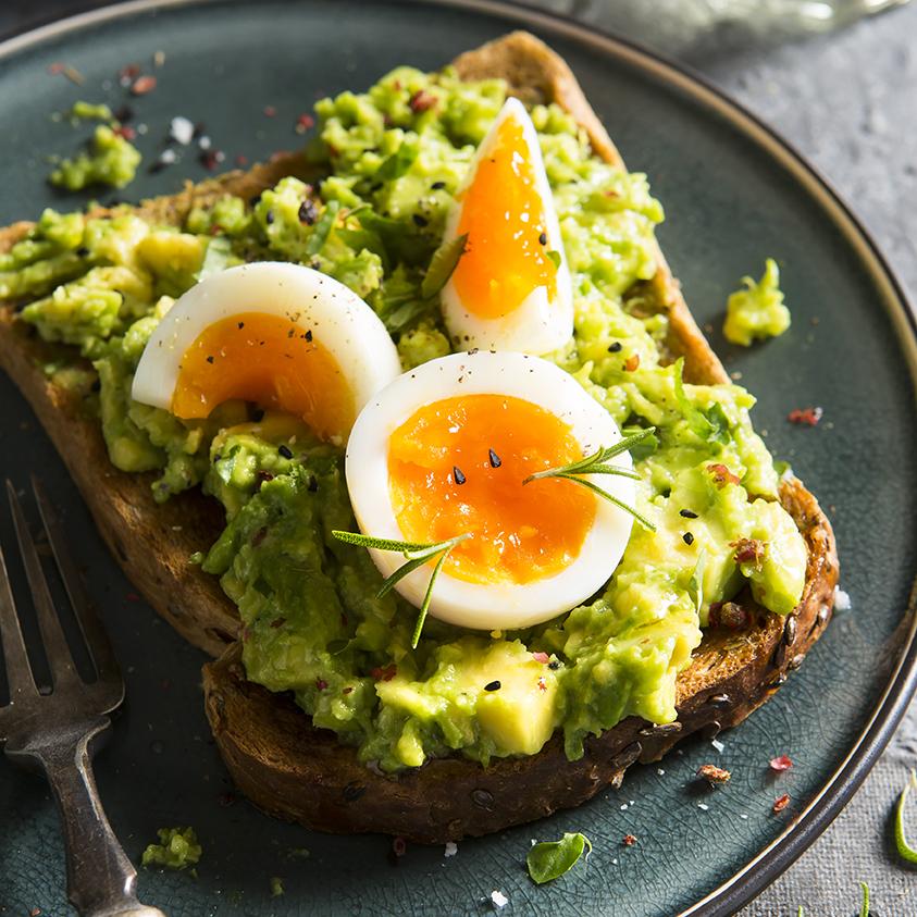 Easter bunny egg breakfast | Stacy Grant | Food Photography | UK