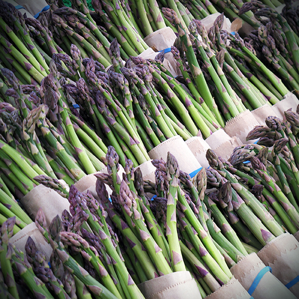 Asparagus | Seasonal veg | Stacy Grant | Food photography