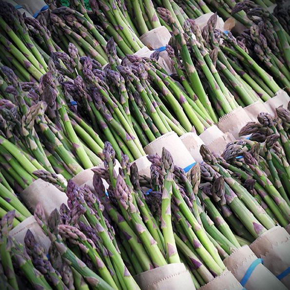 Asparagus | Seasonal veg | Stacy Grant | Food photography