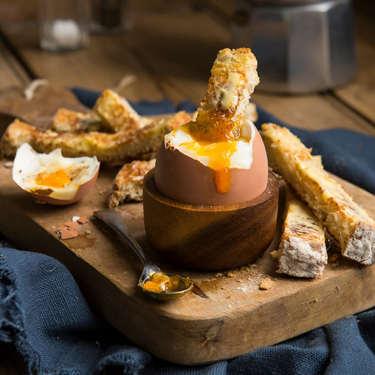 Dippy egg | Boiled egg | Food Photography | Stacy Grant