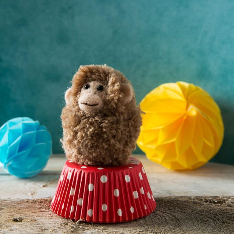 Pocket Pompoms | Monkey | Stacy Grant Photography