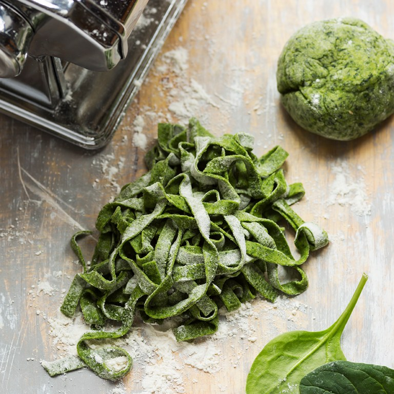 Spinach pasta dough | Stacy Grant | Food Photographer