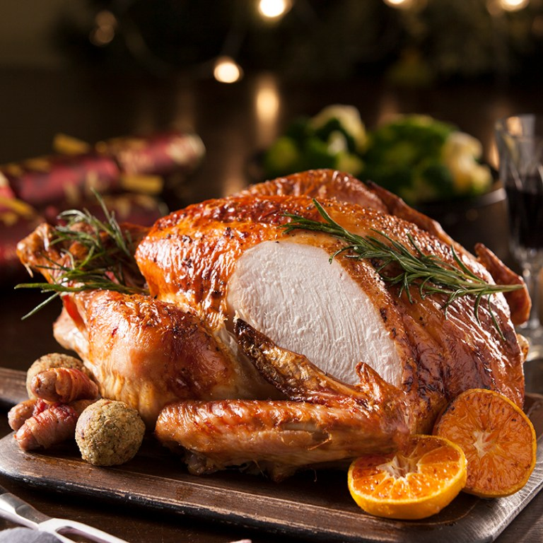Christmas Turkey food photography Stacy Grant