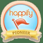Happify Pioneer Badge