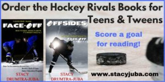 YA hockey book