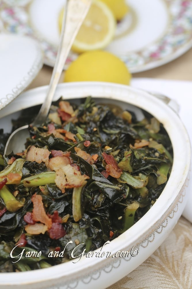 Collard greens are among my favorite winter vegetable and they are incredibly easy to prepare.