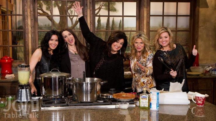 I loved cooking with Joni and her friends! This was an awesome day!