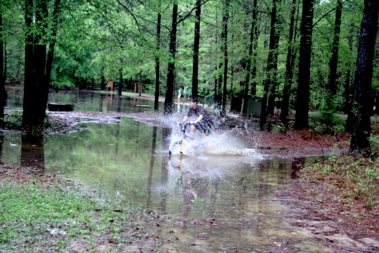 The Alabama flood turned out to be quite fun for my kids!