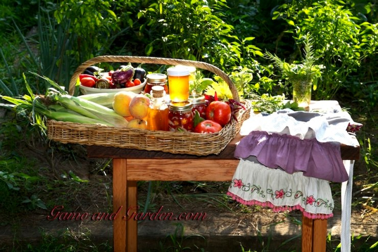 "Preserving your harvest will ensure great health and fresh foods for your family and is a ""must"" for sustainability."