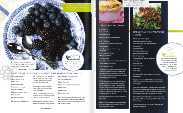 I was ecstatic to share some of my favorite recipes from my books with LEAN Magazine. I love that people are taking charge of their health and are beginning eating fresh, wild foods!