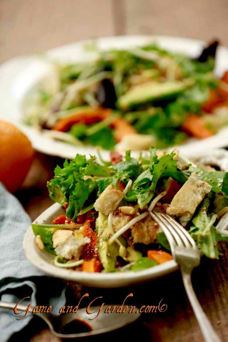Love the moroccan flavors of the salad! #pumpkin