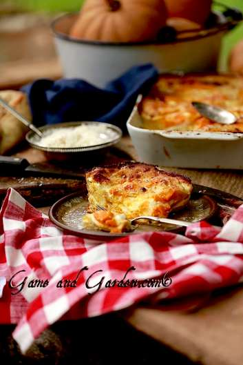 Pumpkin Lasagna with Sage White Sauce
