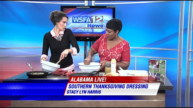 Having fun talking Thanksgiving Dinner with Tonya Terry on Alabama Live WSFA News.