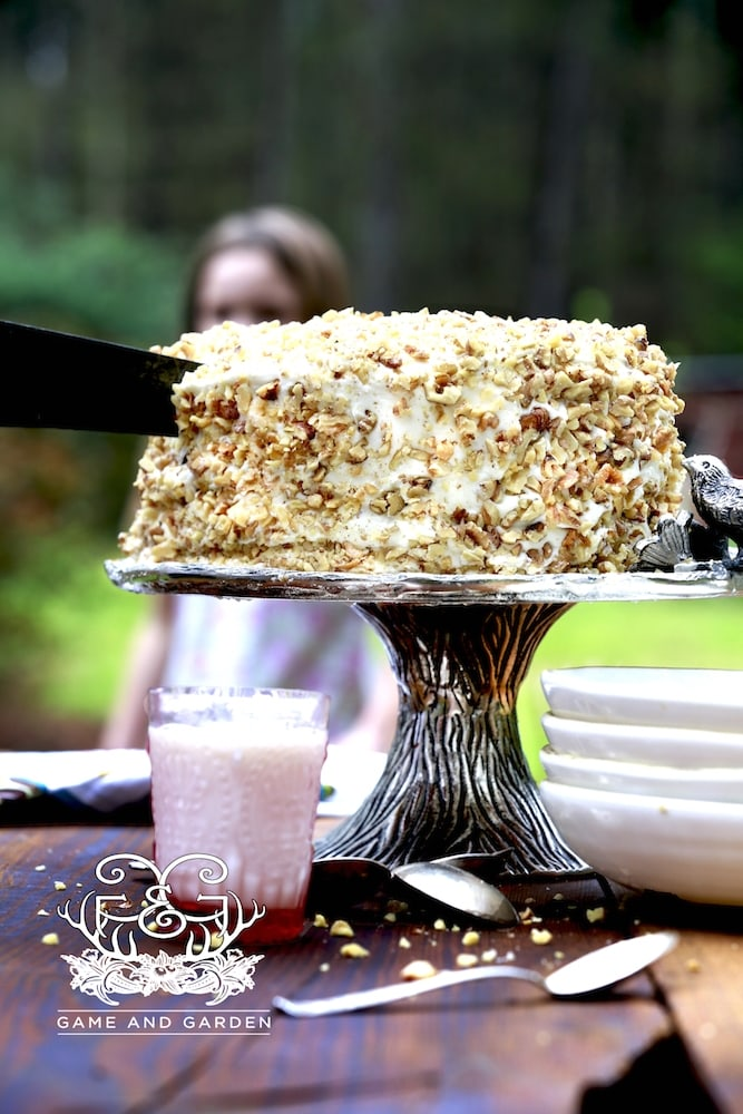 """There are many variations of the """"perfect"""" carrot cake. I don't like to deviate too far from the traditional cake my grandmother and her mother made on a regular basis."""