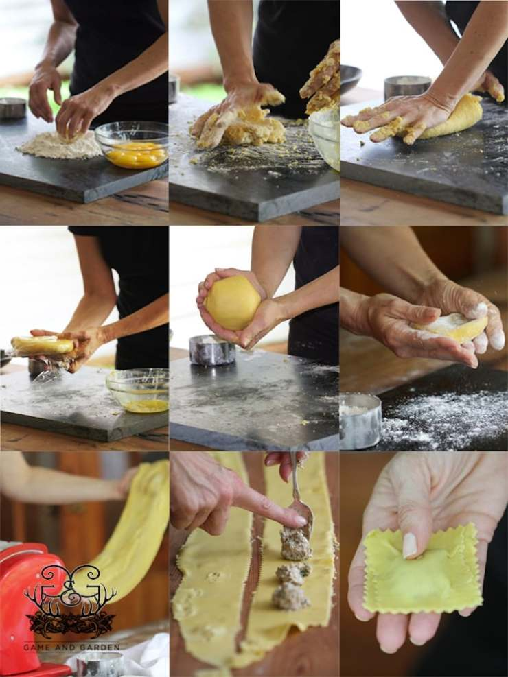 Making homemade pasta is simple! There's just a few easy steps to learn by heart. Once you learn them, it's like riding a bike - you'll never forget how and you'll always have fun!