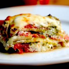 This Eggplant Parmesan recipe is incredibly flavorful, healthy, and surprising simple!