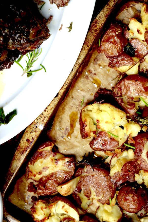 The potatoes are so easy to prepare that it is ridiculous and the taste and texture are...well, PERFECT!
