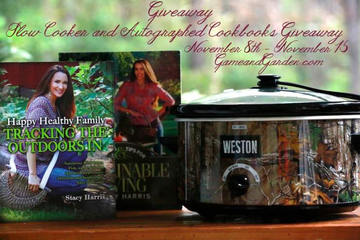 Enter Today to win Weston Slow Cooker and Stacy Lyn Harris' Signed Cookbooks!