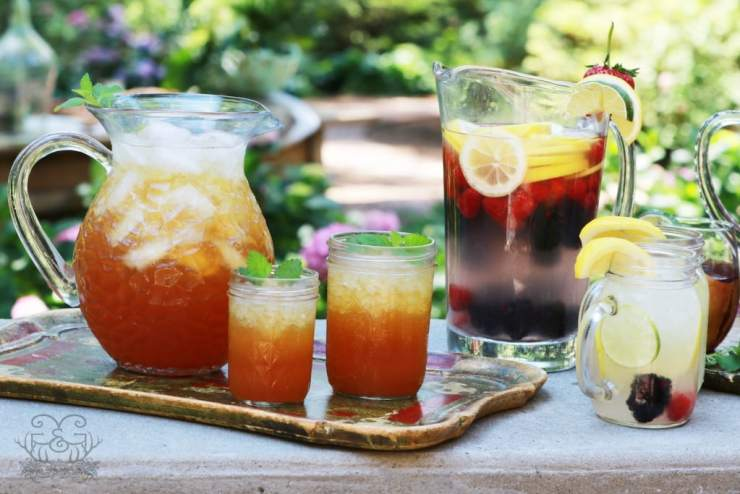 There's nothing like a refreshing glass of Southern Peach Day on an Alabama scorcher!!