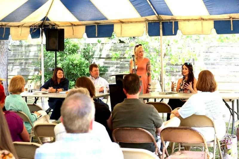 Stacy Lyn Harris panelist at Alabama Book Festival 2017