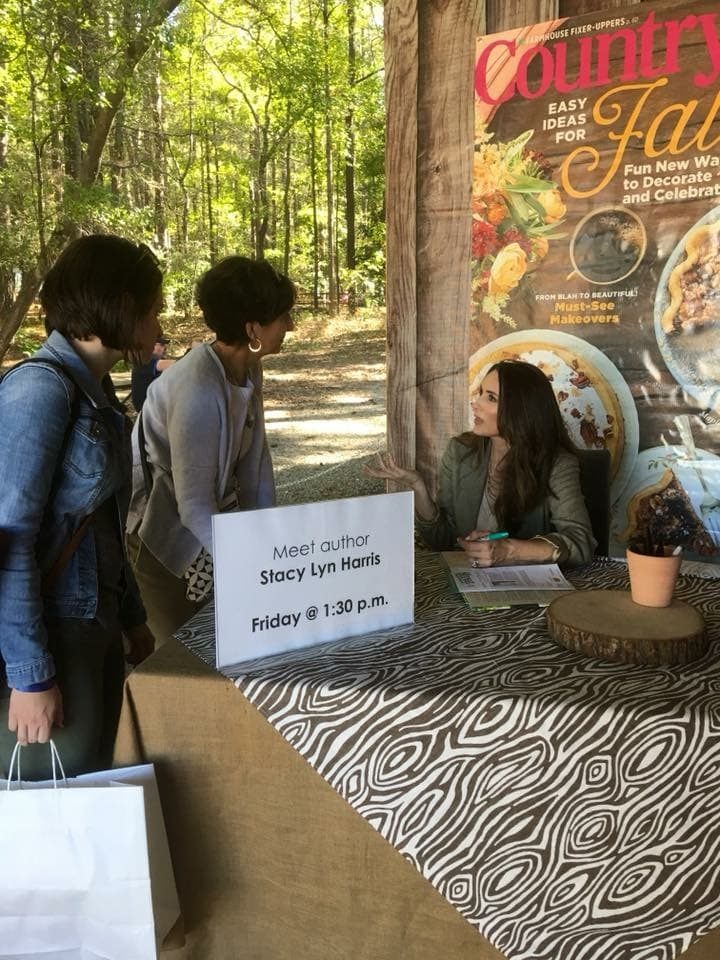 Stacy Lyn Harris - Book Signing at Country Living Fair