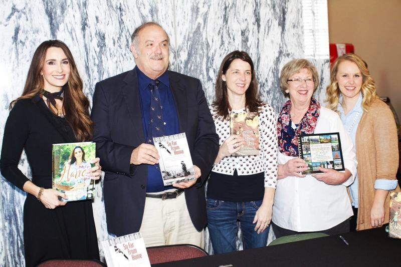 Goat Hill Museum Store Book Signing with Stacy Lyn Harris, Zane Roberts, Emily Glajewas, and Education Parnership.