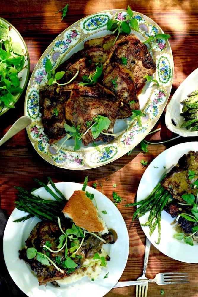 one skillet tender and juicy pork chops