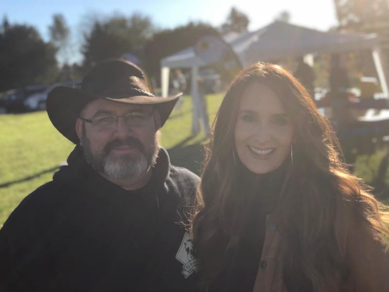 Stacy Lyn Harris with Jason Rehr of Big Bear Homestead