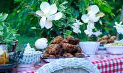 Granny's Fried Chicken, recipe by Stacy Lyn Harris