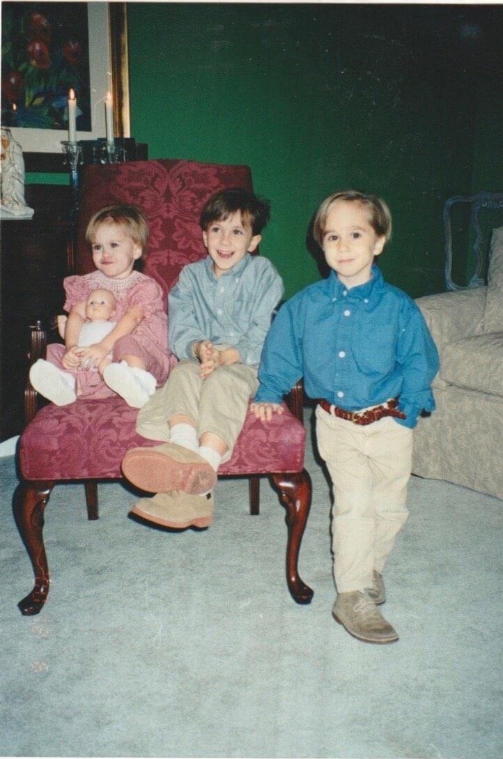 Scrapbook photos of Stacy Lyn Harris children