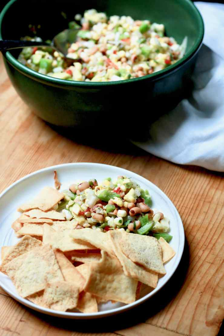 Black-eyed Pea Chutney Appetizer