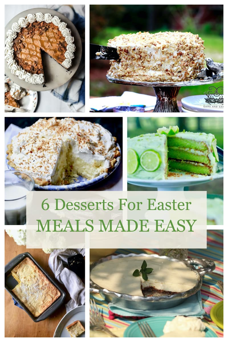 6 easy and fabulous Easter desserts