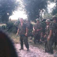 Young soliders during Vietnam War - Memorial Day