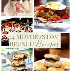 a roundup of Mother's Day brunch dishes
