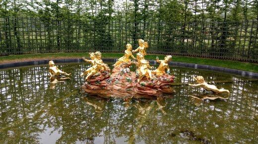 Golden Children Fountain