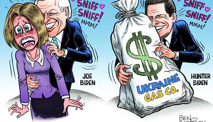 Joe Biden cartoon