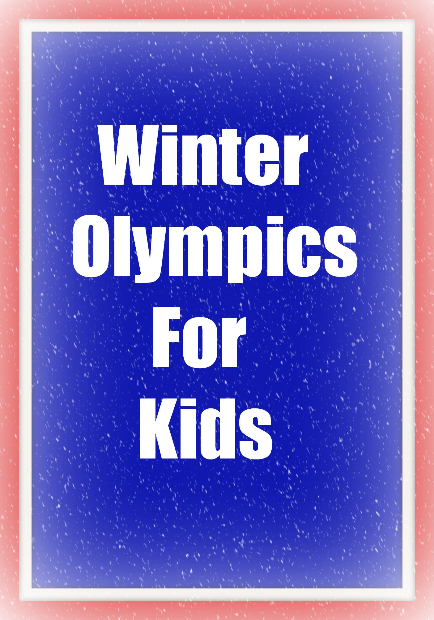 Winter Olympics Study Resources