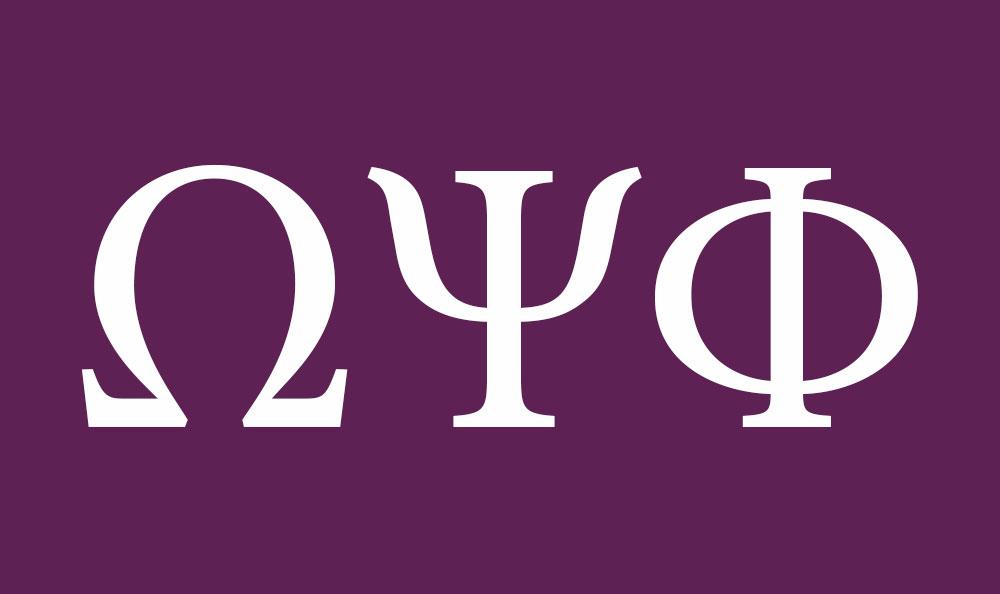Art Que Psi Phi Letters