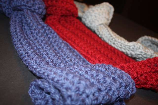 Free Ribbed Crochet Scarf Pattern Stacys Stitches