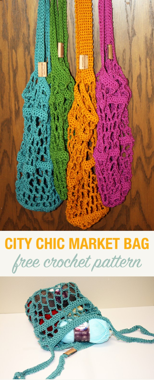 Free Crochet Pattern City Chic Market Bag Stacys Stitches