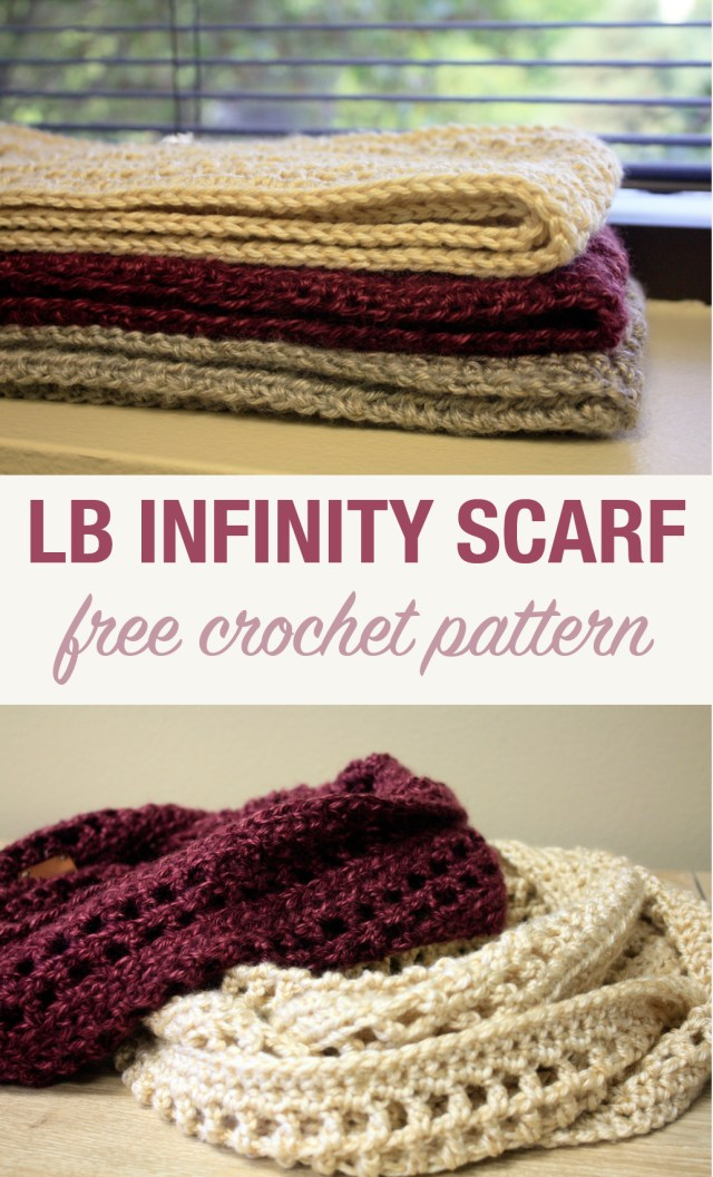 Lb Crochet Infinity Scarf Stacys Stitches