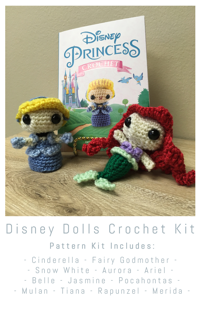 Shop Disney Princess Crocheted Doll Patterns on Etsy | POPSUGAR Family | 1329x850