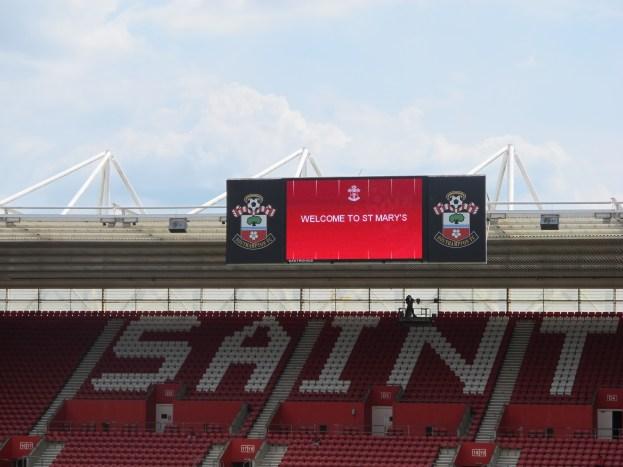 A Place to Avoid the Crowd: St Mary's Stadium, Southampton, UK (Photo: Stadiafile)