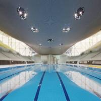 THE GREAT ARENA ROOF: Part II (Zaha Hadid's London Aquatic Centre)