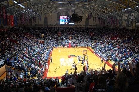 You do feel the game at the Palestra (Photo: Stadiafile)