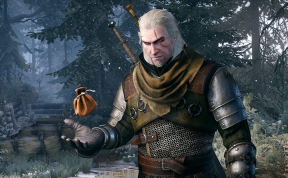 The Witcher 3 bolsa de dinero