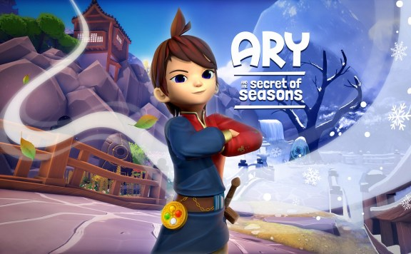 Ary and the Secret of Seasons Portada